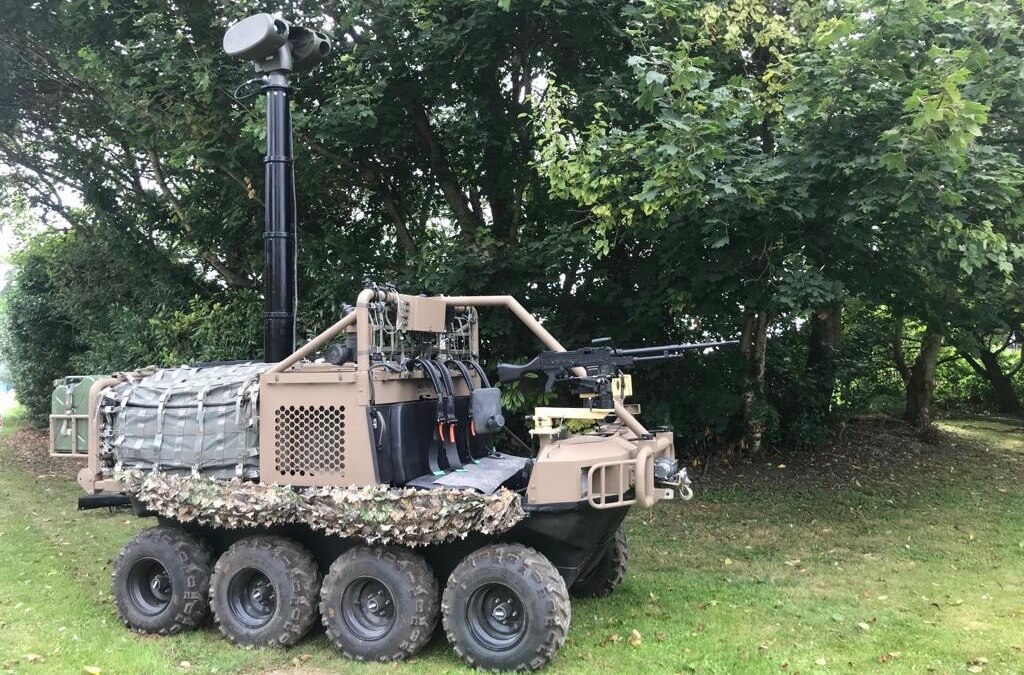 Hippo All Terrain Support Vehicle with Mast