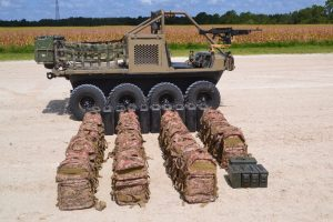 Hippo All Terrain Support Vehicle with payload