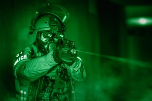 Police Marksman with Laser Light Module
