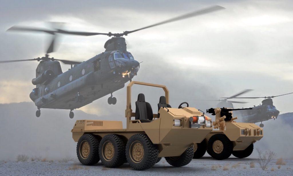 Hybrid Amphibious Wheeled Carrier (HAWC)